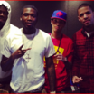 Meek Mill was in Studio last night With Jahlil Beats & Guess who else?