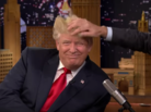 "Jimmy Fallon Messes Up Donald Trump's Hair On ""The Tonight Show"""