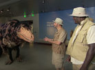 Jimmy Kimmel Tries To Convince Rams' Williams Hayes That Dinosaurs Are Real