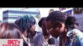"""Rae Sremmurd, Migos & G-Eazy Give DJ Khaled """"Snapchat Of The Year"""" On The BET Awards Red Carpet"""