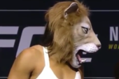 Ronda Rousey Stares Down Lion Mask-Wearing Amanda Nunes Ahead Of UFC 207