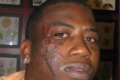 Gucci Mane Shows Off New Ice Cream Face Tattoo