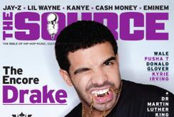Drake Covers The Source magazine