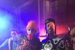 "BTS Photos: Video Shoot For Swizz Beatz & ASAP Rocky's ""Street Knock"""