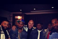 Kanye West, DJ Khaled, Busta Rhymes, Fat Joe, Mos Def & Jadakiss In The Studio Together