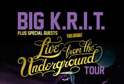 "Big K.R.I.T. Announces ""Live From The Underground"" Tour"
