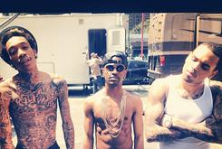 "BTS Photos: Video Shoot For Chris Brown's ""Til I Die"" With Big Sean & Wiz Khalifa"