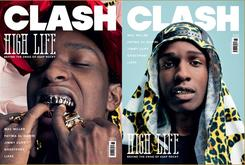 "A$AP Rocky On The Cover Of ""Clash"""
