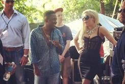 Lady Gaga Hits Up Pitchfork Music Festival To See Kendrick Lamar