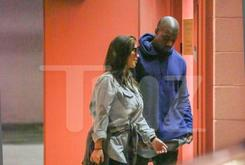 Photos: Kanye West, Kim Kardashian & North West Spotted Out Together For First Time Since Baby's Birth