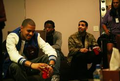 """Drake Calls Himself & J. Cole The """"Two Kings"""" Of The Rap Game During L.A. Show"""