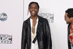 """Kanye West Reportedly Has Production On ASAP Rocky's """"A.L.L.A"""""""
