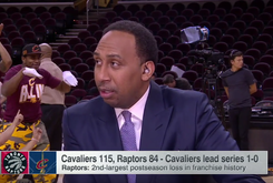 This Cleveland Cavaliers Background Dancer Delivered An Epic Videobomb On Stephen A. Smith