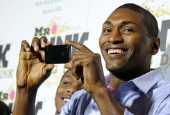 """Metta World Peace Is Allegedly Good Friends With The Guy Who Started The """"Malice At The Palace"""""""