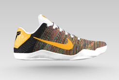 "Nike Kobe 11 ""Multicolor"" Option Now Available On NikeiD"