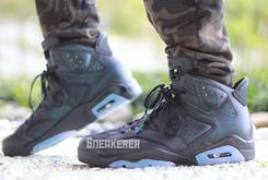 """Check Out These On-Foot Images Of The """"Chameleon"""" Air Jordan 6"""