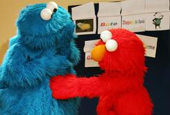 Cookie Monster Stabbed In Times Square