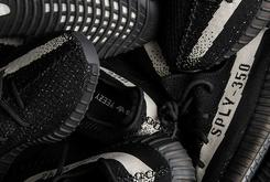"""Adidas Yeezy Boost 350 V2 """"Black/White"""" Release Date Announced"""