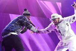 """50 Cent Says Chris Brown Is Still His Friend Despite Dropping Out Of """"Party"""" Tour"""