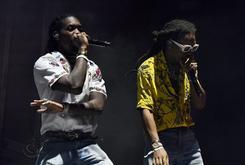 Migos Visits Mike Tyson's Home In Vegas