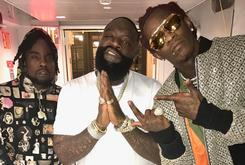 "Watch Rick Ross, Young Thug, & Wale Perform ""Trap Trap Trap"" On The Tonight Show"