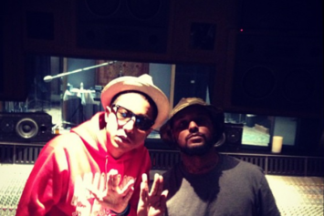 Pharrell And Schoolboy Q Spotted In The Studio