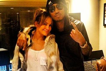 Future And J. Lo Spotted In The Studio