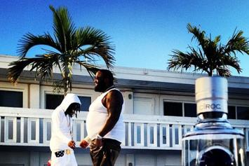 "On The Set Photos: Young Scooter's ""Colombia (Remix)"" Featuring Rick Ross, Birdman, & Gucci Mane"