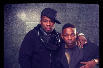 "BTS Photos: Video Shoot For 50 Cent's ""We Up"" With Kendrick Lamar"