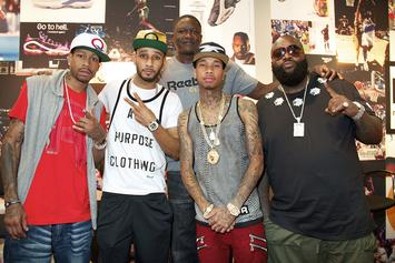 """Rick Ross, Tyga & Allen Iverson Cover XXL & SLAM's """"Kings Of The Game"""" Issue"""