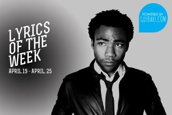 Lyrics Of The Week: April 19-25