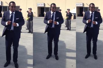 """Diddy """"Dances To Problem's """"Like Whaaat"""" On His Jet"""" Video"""