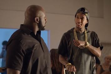 Tyga & Shaq Star In Reebok/Footlocker Commercial