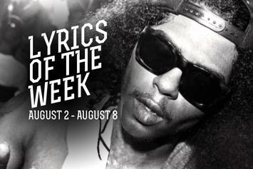 Lyrics Of The Week: August 1-8