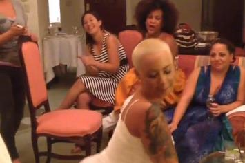 "Amber Rose ""Twerks In Her Wedding Dress"" Video"