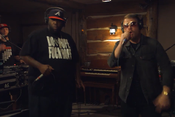 "Run The Jewels (Killer Mike & El-P) ""Live At The Log Cabin "" Video"