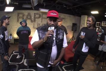 ASAP Rocky, Bun B & Vic Mensa Freestyle On MTV's Rapfix Live