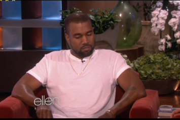 Kanye West On The Ellen Show Part 1