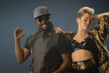 "Will.i.am Feat. Miley Cyrus, French Montana & Wiz Khalifa ""Feelin' Myself"" Video"