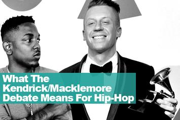 What The Kendrick/Macklemore Debate Means For Hip-Hop