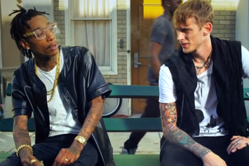 "Machine Gun Kelly Feat. Wiz Khalifa ""Mind Of A Stoner"" Video"