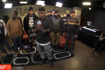 Isaiah Rashad & Goodbelt Gang Freestyle On MTV's Rapfix Live