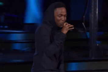 Kendrick Lamar Performs During NBA All-Star Saturday Night