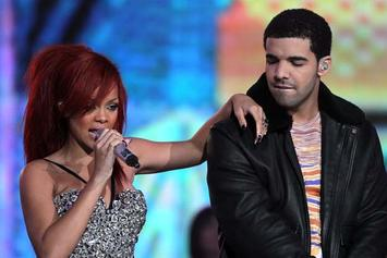 Drake & Rihanna Holding Hands In England