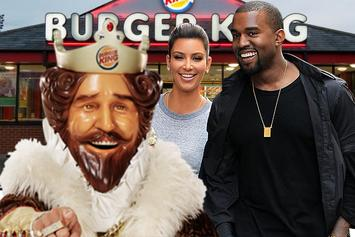 Kanye West Buys Kim Kardashian 10 Burger King Branches As A Wedding Gift