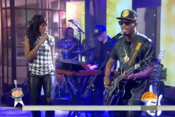 "B.o.B And Priscilla Perform ""John Doe"" On The Today Show"