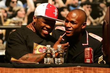 50 Cent Takes Jab At Floyd Mayweather On Instagram