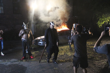 """BTS Of French Montana's """"Don't Panic"""" Video"""