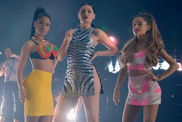 "Ariana Grande Feat. Nicki Minaj & Jessie J ""Bang Bang"" Video"