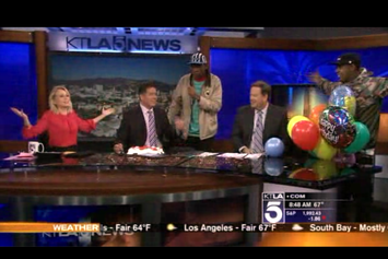 Tyler The Creator Pranks L.A. News Network KTLA
